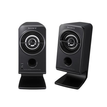 Desktop / Multimedia Portable Speakers (Black)