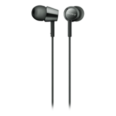 EX155 In-Ear Headphones (Black)