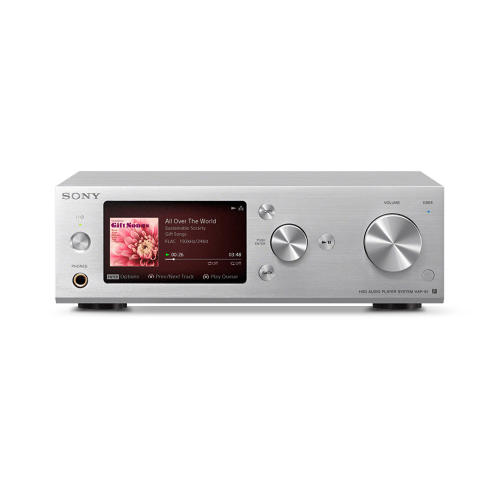 High-Resolution Audio 500G HDD Player (Silver), , product-image
