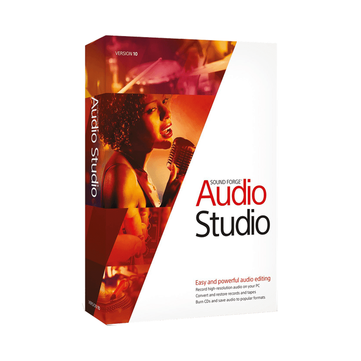 Sound Forge Audio Studio 10, , product-image