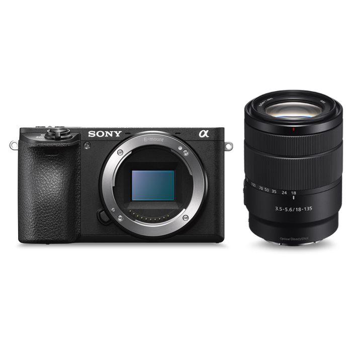 Alpha 6500 Premium E-mount APS-C Camera with 18-135mm Zoom Lens, , product-image
