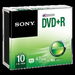 10-pack DVD+R