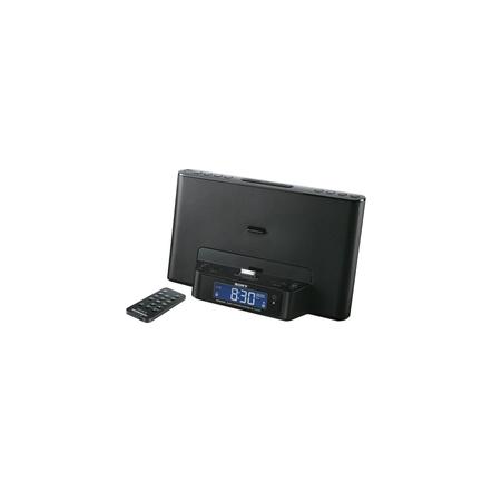 iPod and iPhone Dock Clock Radio (Black), , hi-res