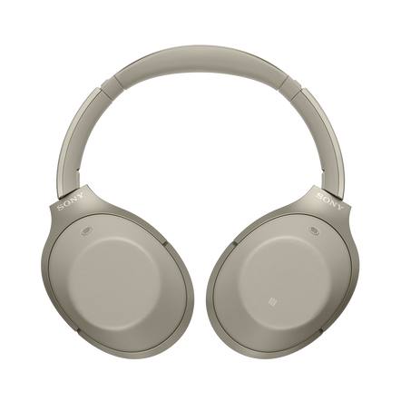 1000X Noise Cancelling Bluetooth Headphones (Cream)
