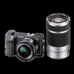 NEX-6 16.1 Mega Pixel Camera with SELP1650 and SEL55210 Lens