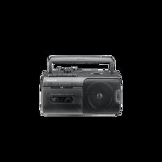 Radio Cassette Player (Black)