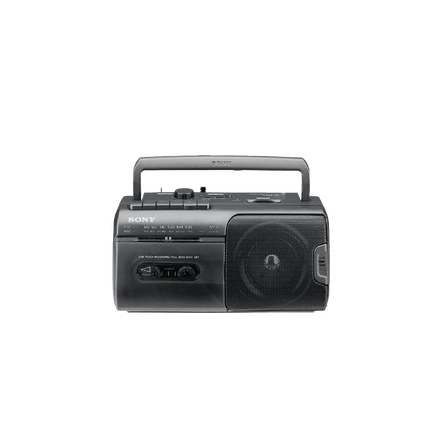 Radio Cassette Player (Black)