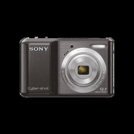 12.1 Megapixel S Series 3X Optical Zoom Cyber-shot Compact Camera (Black), , hi-res