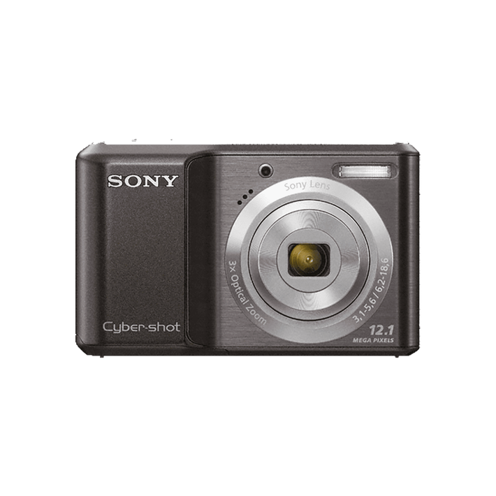 12.1 Megapixel S Series 3X Optical Zoom Cyber-shot Compact Camera (Black), , product-image