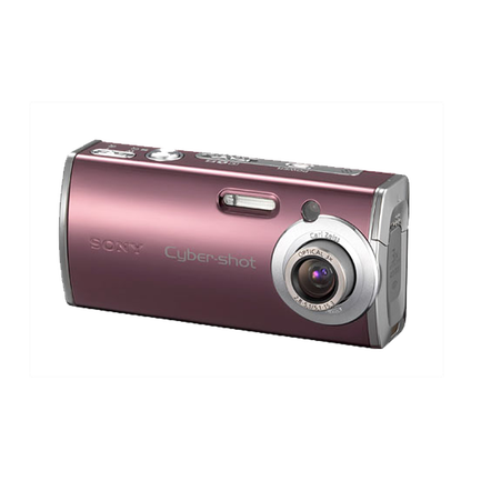 4.0 Megapixel L Series 3X Optical Zoom Cyber-shot Compact Camera (Red), , hi-res