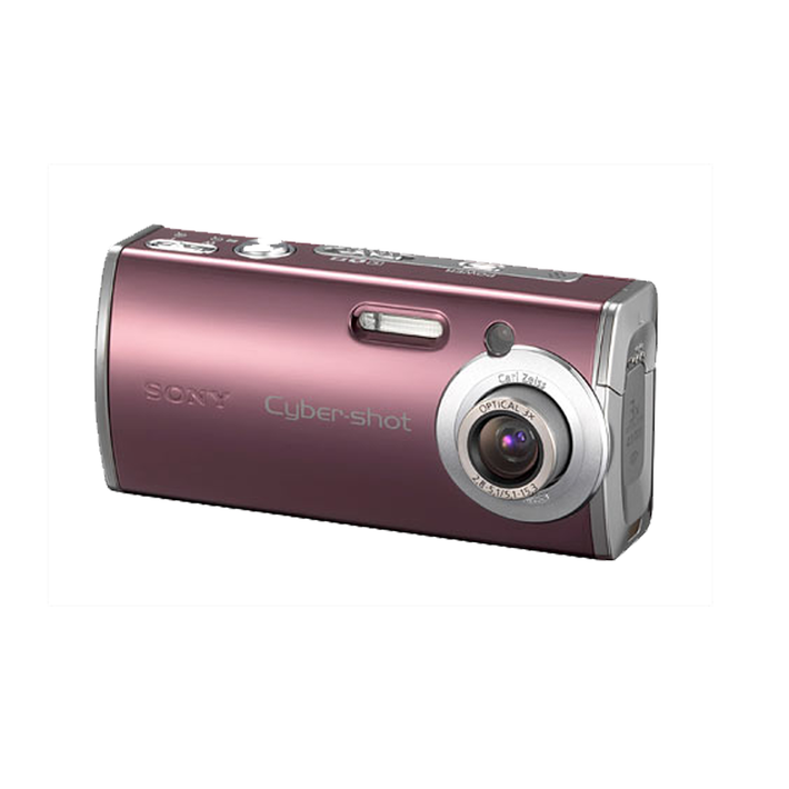 4.0 Megapixel L Series 3X Optical Zoom Cyber-shot Compact Camera (Red), , product-image