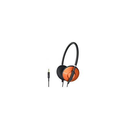 Lightweight Headphones (Orange)