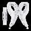 AS410AP Sport In-ear Headphones (White)