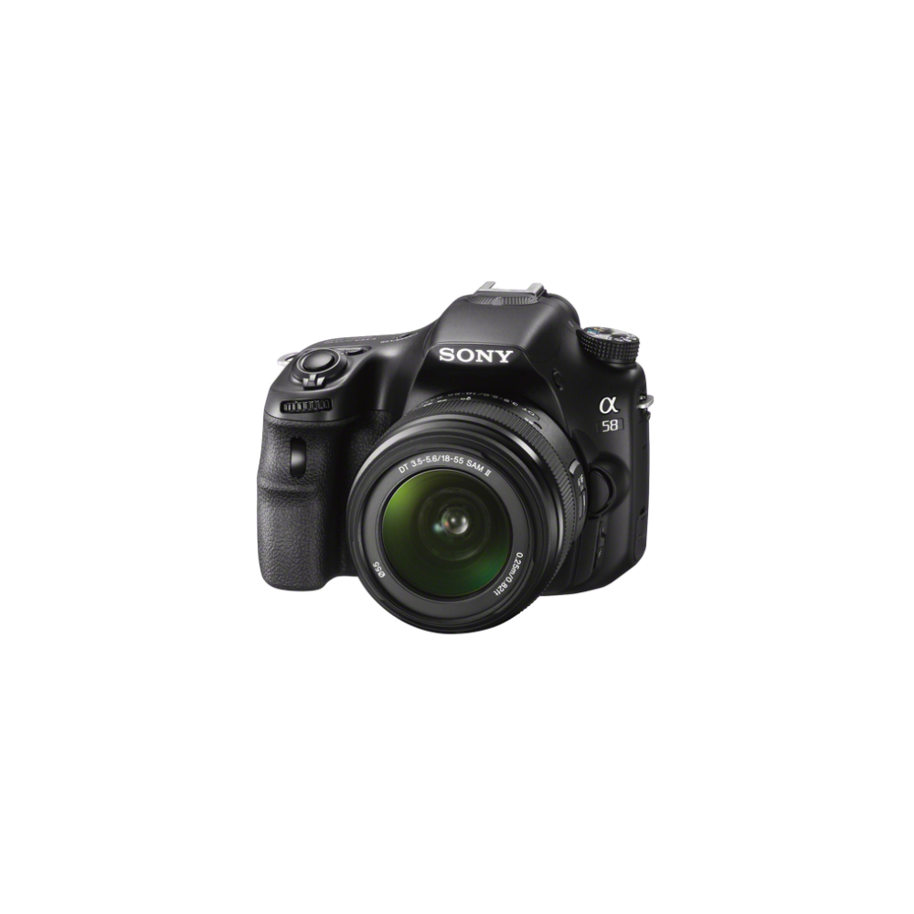 a58 Digital SLT 20.1 Mega Pixel Camera with SAL18552 and SAL55200 Lens, , hi-res