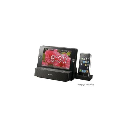 iPod and iPhone Dock Clock Radio, , hi-res