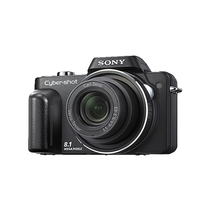8.1 Mega Pixel H Series 10x Optical Zoom Cyber-shot (Black), , product-image