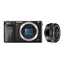 a6000 Digital E-Mount Camera (Black) with 16-50mm Len