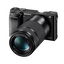 a6000 Digital E-Mount 24.3 Mega Pixel Camera with SELP1650 and SEL55210 Lens