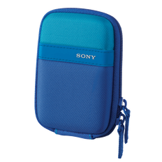 Soft Carrying Case for T and W Series CyberShot Camera (Blue)