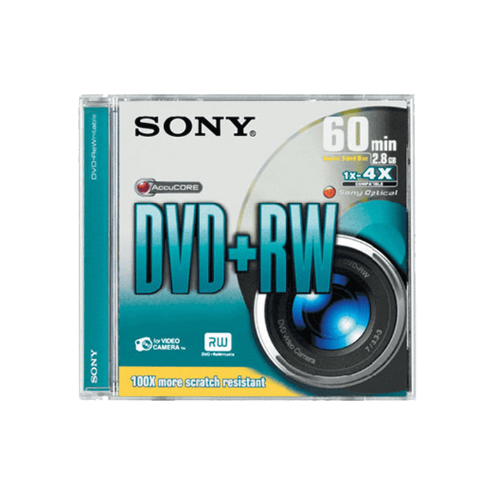 2.8GB 8cm Video DVD+RW, , product-image