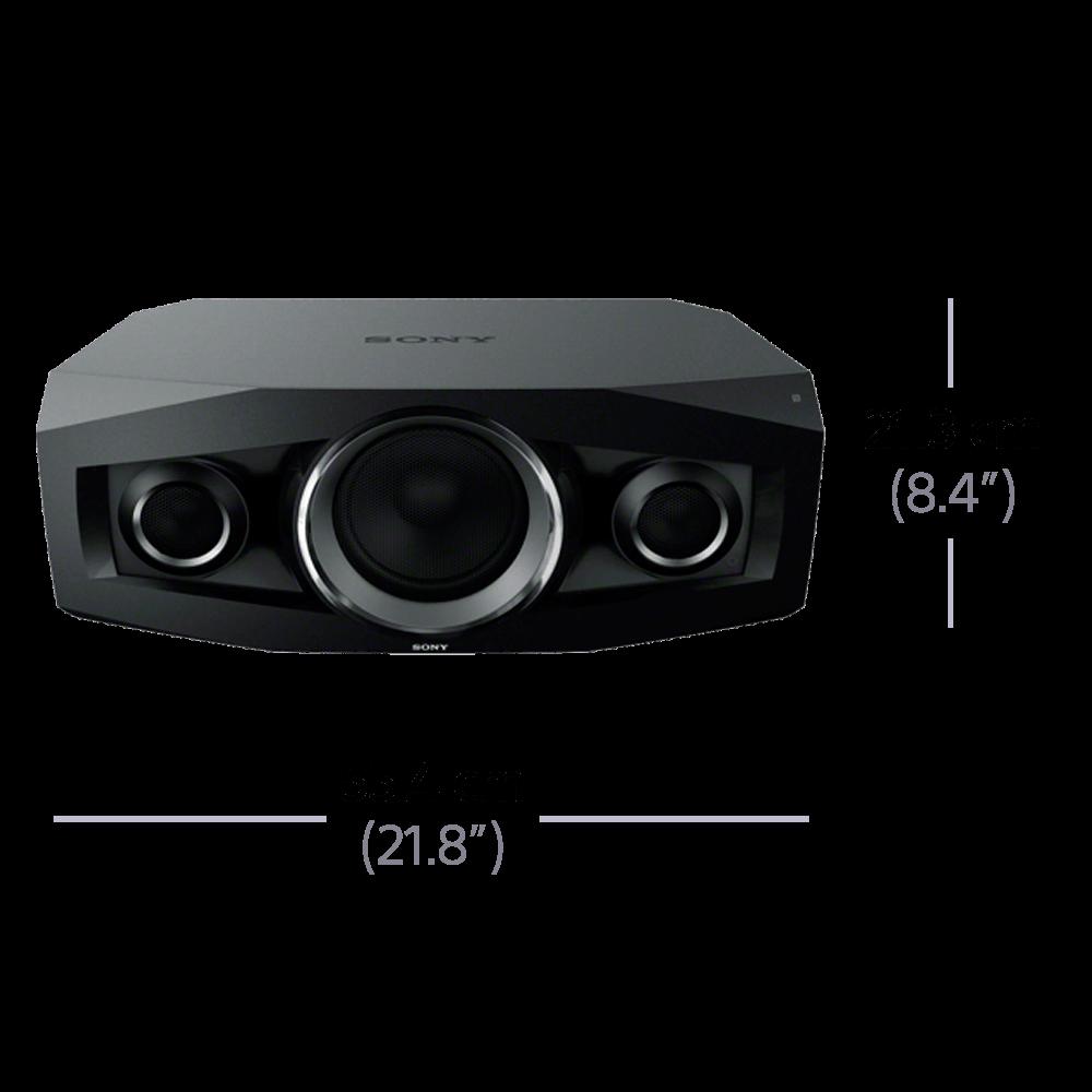 Wireless Mini Hi-Fi System with Bluetooth, , hi-res