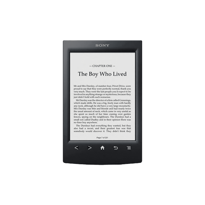 Reader with 6.0 paper-like touch screen (Black), , product-image