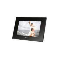 "7"" Digital Photo Frame (Black)"