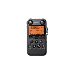 4GB Professional Series Linear PCM Recorder (Black), , hi-res