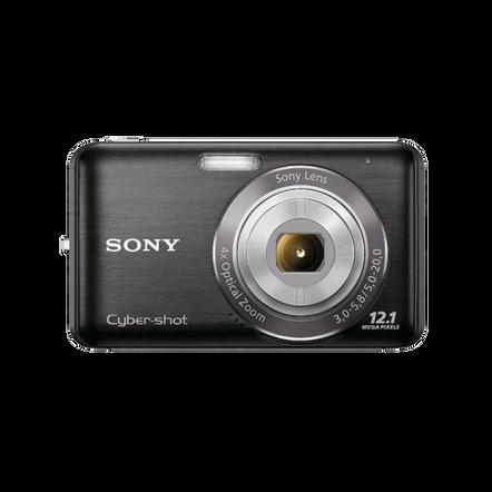 12.1 Megapixel W Series 4X Optical Zoom Cyber-shot Compact Camera (Black)
