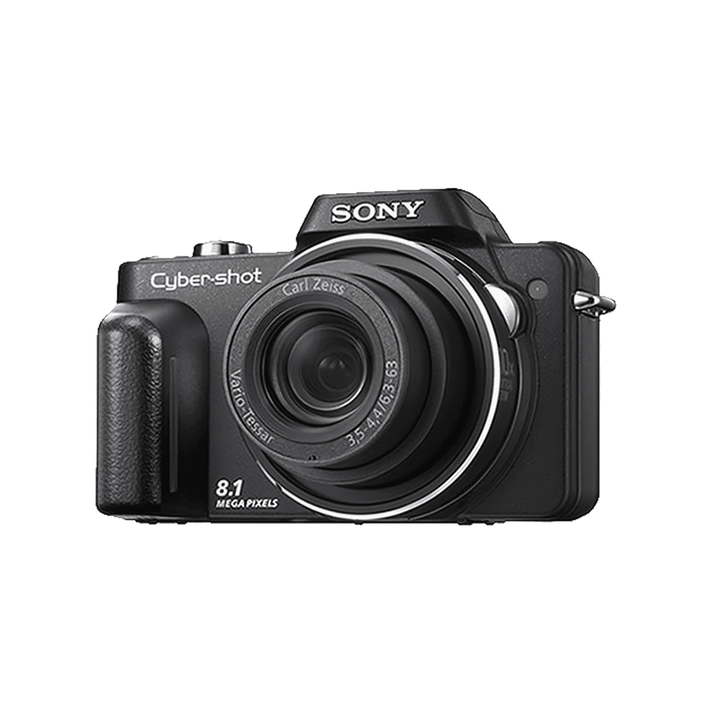 8.1 Mega Pixel H Series 10x Optical Zoom Cyber-shot (Black), , product-image