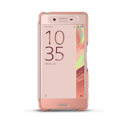 Style Cover Touch SCR56 for Xperia X Performance (Rose Gold), , hi-res