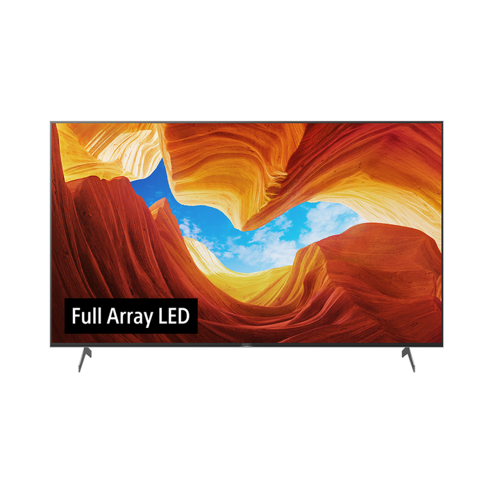 "85"" KD-85X9000H Full Array LED 4K Android TV, , product-image"