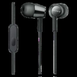EX155AP In-Ear Headphones (Black), , hi-res