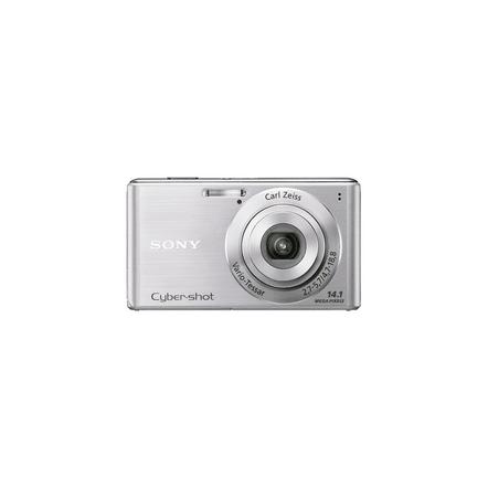 14.1 Mega Pixel W Series 4x Optical Zoom Cyber-shot (Silver), , hi-res