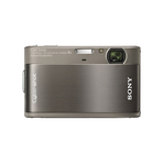 10.2 Megapixel T Series 4X Optical Zoom Cyber-shot Compact Camera (Grey), , hi-res