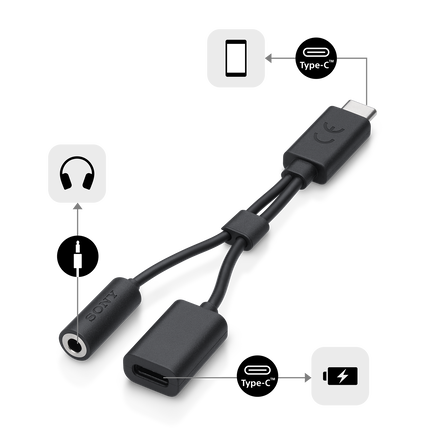 USB Type-C 2-in-1 Cable