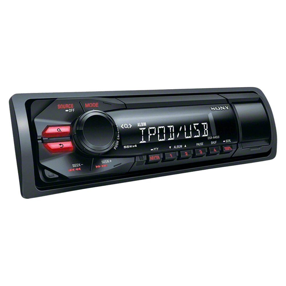 A40UI In-car audio system, , product-image