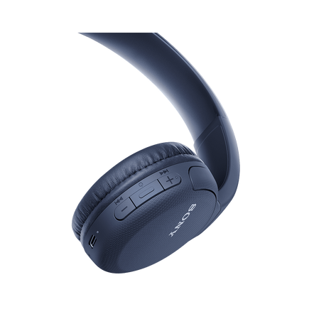 WH-CH510 Wireless Headphones (Blue), , hi-res