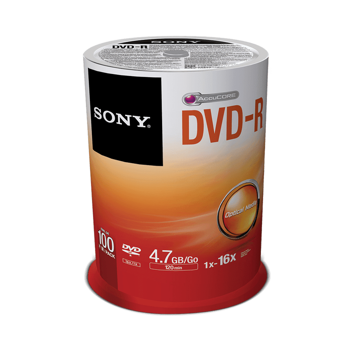 100-Pack DVD-R Disc, , product-image