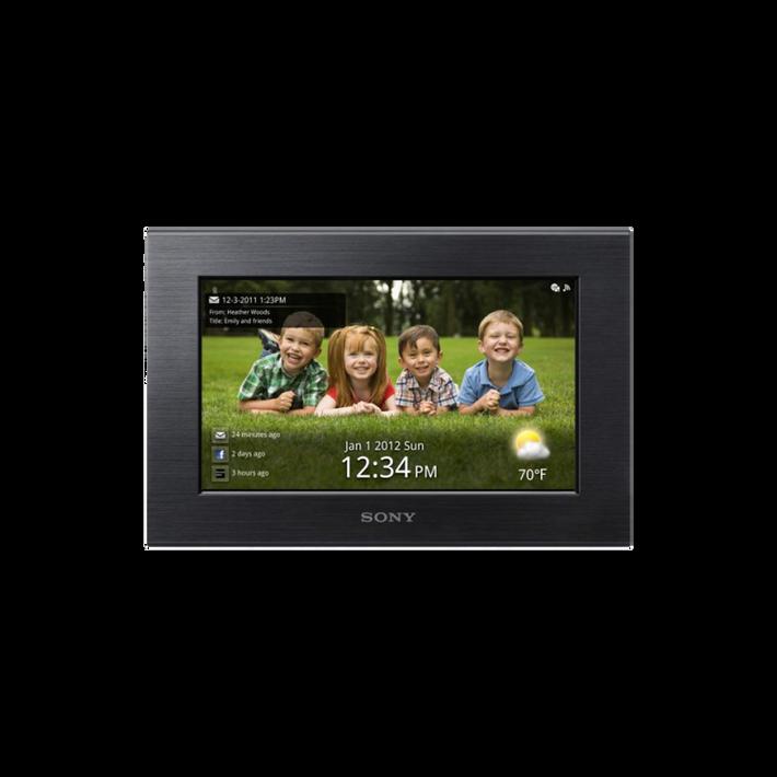 "7.0"" Wi-Fi Digital Photo Frame (Black), , product-image"