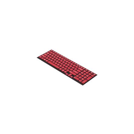 Keyboard Skin (Dark Red)