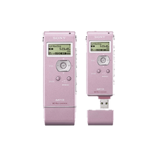 2GB MP3 Digital Voice IC Recorder (Pink)