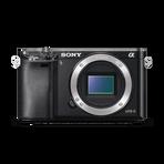 Alpha 6000 Digital E-Mount Camera (Black) with 16-50mm Lens, , hi-res