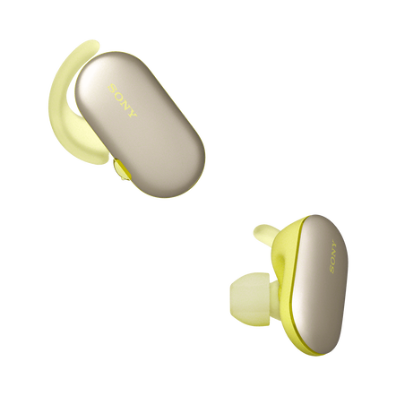 WF-SP900 Sports Wireless Headphones (Yellow), , hi-res