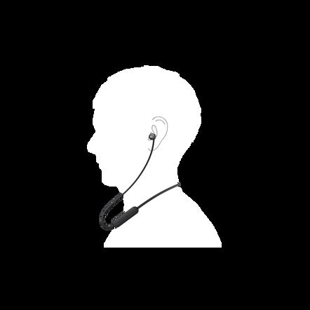 WI-C310 Wireless In-ear Headphones (Black), , hi-res