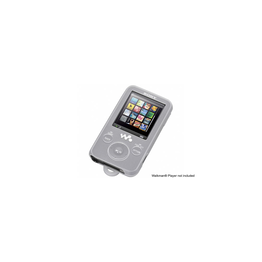 Silicone Carrying Case for Walkman Video MP3 Players (White), , hi-res