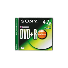 DVD+R Data Storage Media