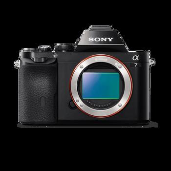 Alpha 7 Digital E-Mount Camera with Full Frame Sensor (Body only), , hi-res