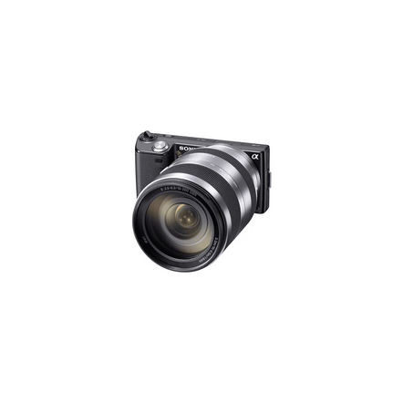 16.1 Mega Pixel Camera (Black) with SEL18200 lens, , hi-res