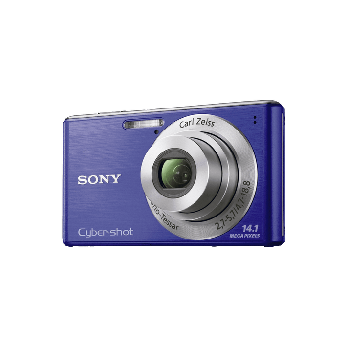 14.1 Megapixel W Series 4X Optical Zoom Cyber-shot Compact Camera (Blue), , product-image